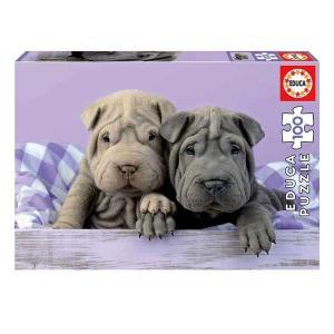 Παζλ 100 τεμαχίων Καλημέρα σκυλάκια