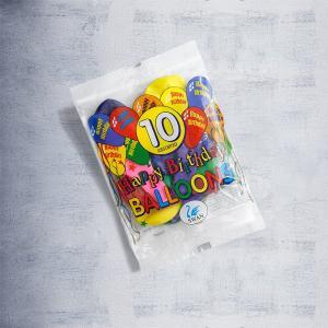 Μπαλόνια γενεθλίων 10 τεμαχίων