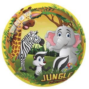 Μπάλα πλαστική Jungle Adventure 23 εκατοστά