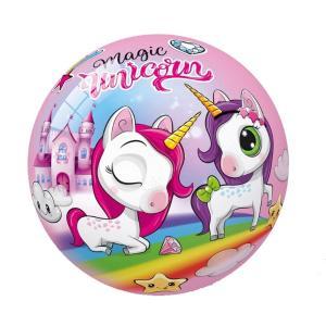Μπάλα πλαστική Magic Unicorn 23 εκατοστά