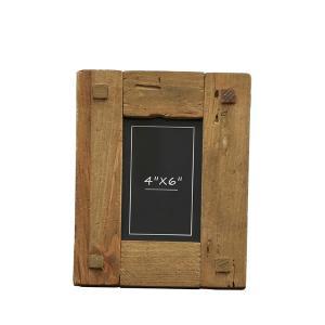 Φωτογραφοθήκη μασίφ ξύλινη κορνίζα, τετράγωνα 19x25 εκατοστά