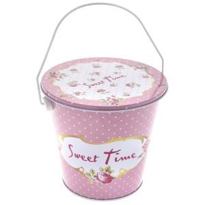 Στρογγυλό κουτί ρόζ