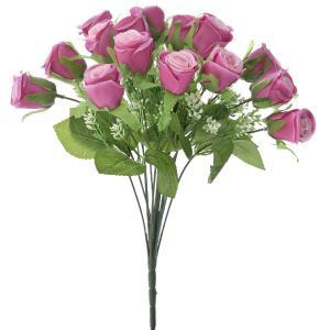 Μπουκέτο βαθύ ρόζ τριαντάφυλλα