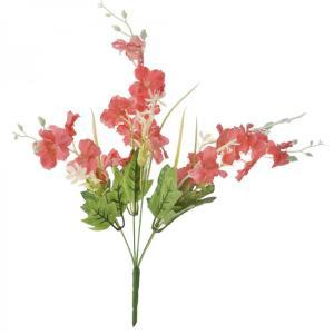 Μπουκέτο με κοραλί άνθη 44 εκατοστά
