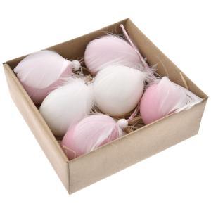 Αυγά με φτερά σετ 6 τεμαχίων