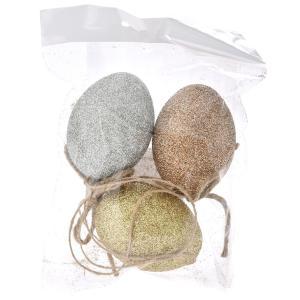 Αυγά με glitter σετ 3 τεμαχίων