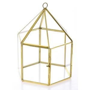 Εξάγωνη πυραμίδα γύαλινη