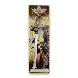 Σπαθί & θήκη σπαθιού σε καρτέλα πλαστικό παιχνίδι