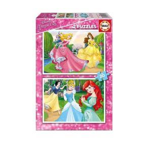 2 παζλ  20 τεμαχίων Princess