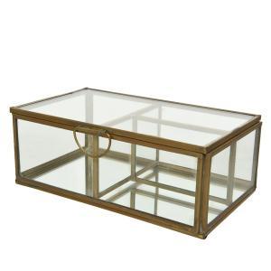 Μπιζουτιέρα γυάλινη 10cm