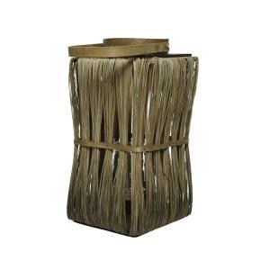 Φαναράκι ξύλινο τετράγωνο