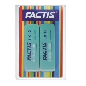 Γομολάστιχες πράσινες σετ 2 τεμαχίων Factis