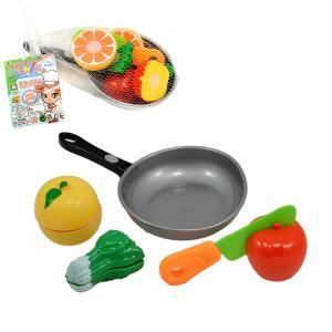 Τηγάνι πλαστικό με λαχανικά