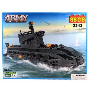 Τουβλάκια COGO υποβρύχιο 520 τεμαχίων