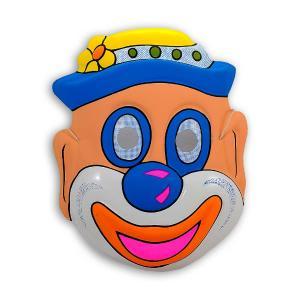 Αποκριάτικη μάσκα clown με καπέλο για παιδιά