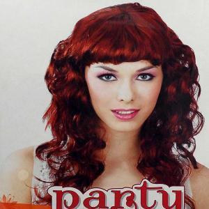 Αποκριάτικη περούκα κοκκινομάλλα