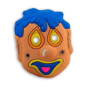 Αποκριάτικη μάσκα clown για παιδιά