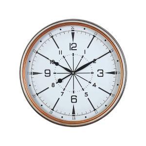 """Ρολόι Τοίχου """"Compass"""",Μπρονζέ"""
