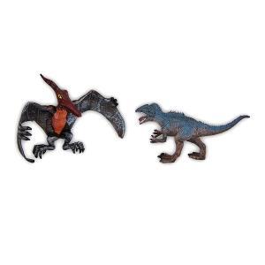 Δεινόσαυροι σετ 2 τεμαχίων πτεροδάκτυλος και τυραννόσαυρος