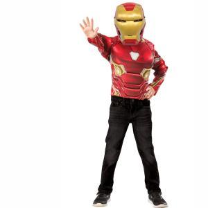 Αποκριάτικο Σετ Μπλόυζα & μάσκα Ironman