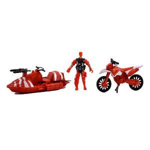 Πυροσβέστες σετ παιχνίδι μηχανή/jet ski