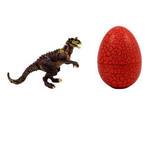 Δεινόσαυρος αυγό (Αλλόσαυρος) κόκκινο παιχνίδι
