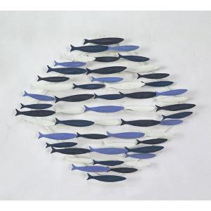 """Διακοσμητικό τοίχου """"Ψάρια"""" 67χ54 εκατοστά"""