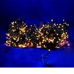 Χριστουγεννιάτικα λαμπάκια 240 λευκά με πράσινο καλώδιο
