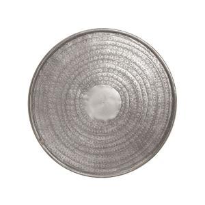 Σφυρήλατος δίσκος αλουμινίου, ματ ασημί