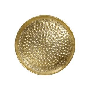 Σφυρήλατος δίσκος αλουμινίου,χρυσό
