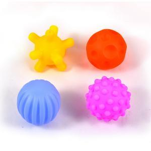 Μπαλάκια soft για μωρά σετ 4 τεμαχίων