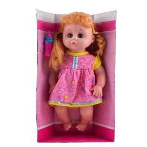 Κούκλα που μιλάει καστανά μαλλιά