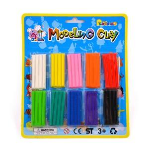 Πλαστελίνες σετ 10 τεμαχίων διαφορετικά χρώματα