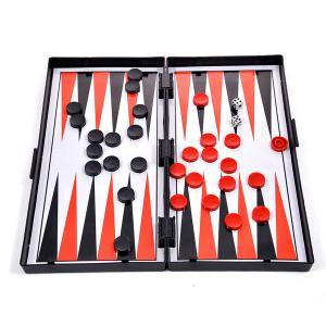 Επιτραπέζιο μαγνητικό σκάκι τάβλι ντάμα 3 σε 1