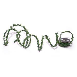 Χριστουγεννιάτικη κορδέλα πρασινάδα πλαστικά φύλλα