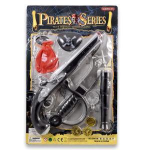 Πειρατικό πιστόλι σετ σε καρτέλα πλαστικό παιχνίδι