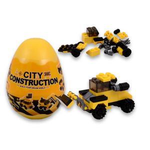 Αυγό τουβλάκια city construction