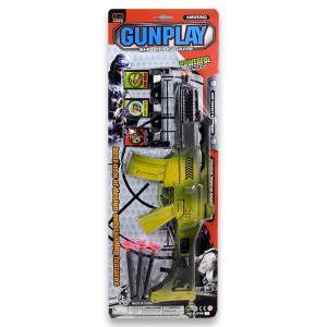 Πυροβόλο σε καρτέλα πλαστικό παιχνίδι