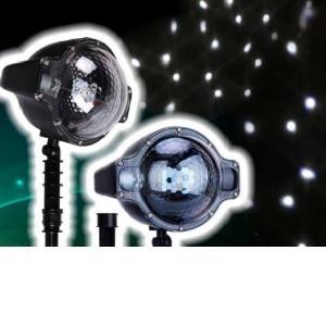 Προτζέκτορας χιόνι λευκό LED λαμπάκια χριστουγεννιάτικα IP44