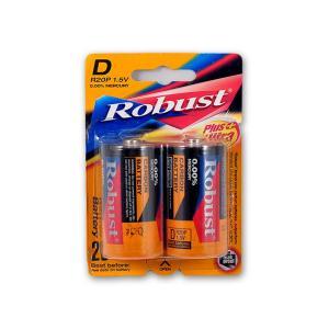 Μπαταρίες Robust μεγάλες 2 τεμαχίων
