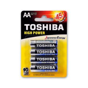 Μπαταρίες αλκαλικές Toshiba mini AA 4 τεμαχίων