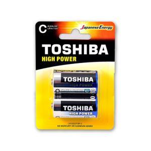 Μπαταρίες αλκαλικές Toshiba μεσαίες 2 τεμάχια