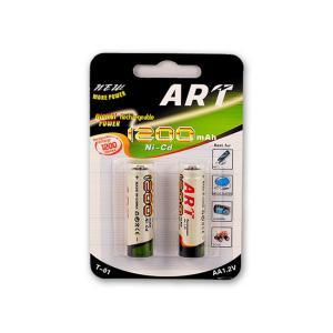 Μπαταρίεςς επαναφορτιζόμενες Art mini AA 2 τεμαχίων