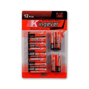 Μπαταρίες Kingever AA 12 τεμαχίων