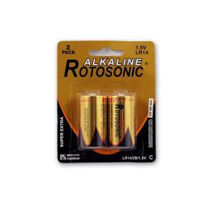 Μπαταρίες αλκαλικές Rotosonic μεσαίες 2 τεμαχίων