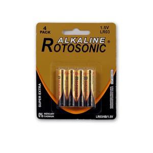 Μπαταρίες αλκαλικές Rotosonic mini mini ΑΑΑ 4 τεμάχια