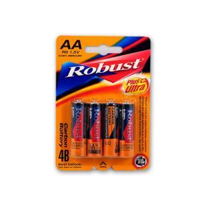 Μπαταρίες Robust mini ΑΑ 4 τεμαχίων