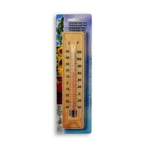 Θερμόμετρο χώρου ξύλινο