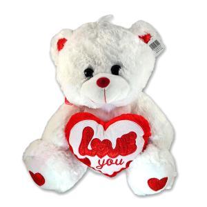 Λουτρίνο αρκουδάκι καρδία 35 εκατοστά