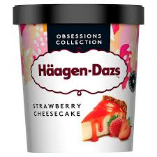 Häagen-Dazs Stawberry Cheesecake 460ml